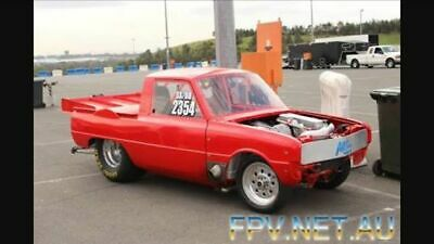 Mazda 1000 ute R100,rx2,rx3,rx4,rx7 drag car, tubbed, turbo, air shifted,