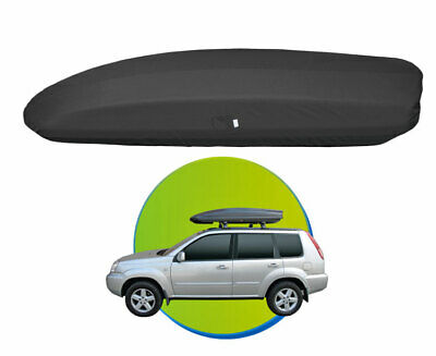 """PROTECTIVE COVER FOR CAR ROOF TOP BOX 54""""- 69""""  137-175cm - black"""