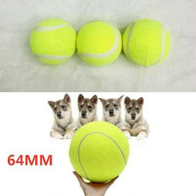 Green Big Giant Pet Dog Puppy Tennis Ball Chew Toy Thrower Chucker Launcher Toy