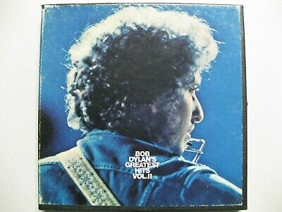 Reel to Reel tape of Bob Dylan's Greatest Hits volume 2