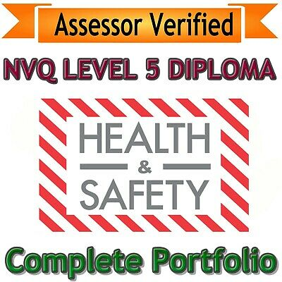 NVQ Level 5 Diploma Health and Safety ANSWERS 2019 VERSION **Quick Dispatch**
