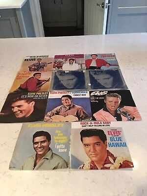"Very Large Elvis Presley vinyl collection of 82 LP's & 31 no 7"" singles"