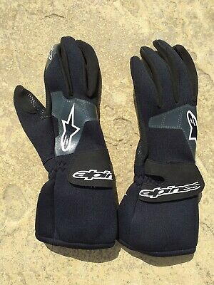 Alpinestars NEO PRO Gloves - Size XS - Wet Weather Karting - Black Neoprene