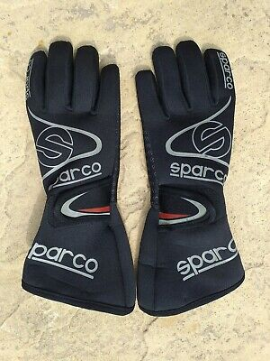 Sparco Black Neoprene Gloves XS (8) Cold/Rain/Kart/Karting/Mechanics/Wet Weather