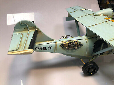 Tin Model of an Amphibian Flying Boat (Blechflugzeug)
