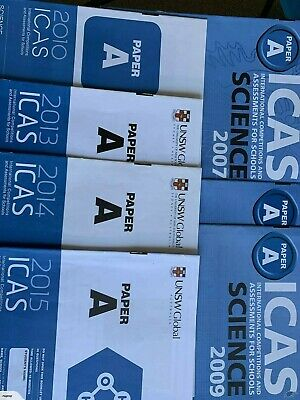 ICAS Past Papers Paper A (Year 3) with answers - 61 papers. Fast delivery