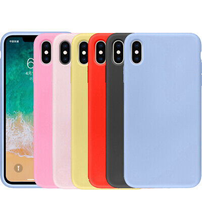 Case for iPhone 6 7 8 Cover 360 Luxury UltraThin Slim Shockproof Hybrid Silicone