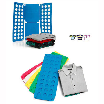 Magic Kids Clothes Folder Shirts Jumpers Organiser Fold Laundry Suitcase Easy