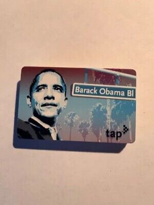 The Barack Obama Metro Tap Card (Last 3, Don't Miss Out!)