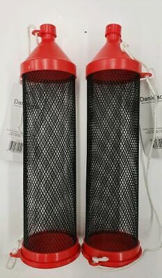 "2- NEW Cricket Tubes Large, 9"" with Carry Rope 2 Pack Value!!"