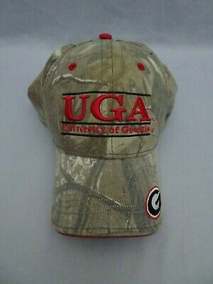 huge selection of d5fad 7a3df The Game Hat UGA University Of Georgia Bulldogs Camo One Size Fits Most EUC