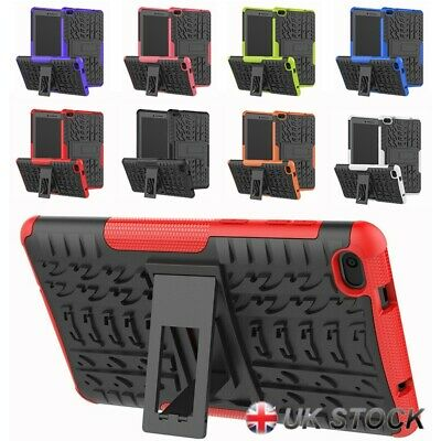 Heavy Duty Shockproof Bumper Stand Kids Case Cover For Lenovo Tab E7 Tablet