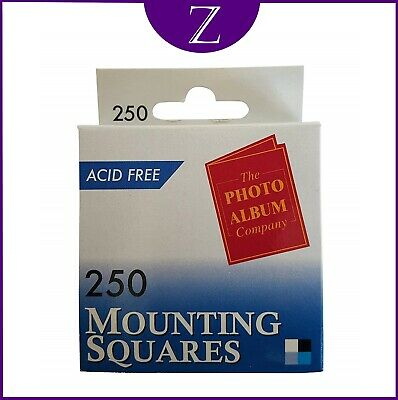 Photo Mounting Squares Pack Of 250 With Free Delivery