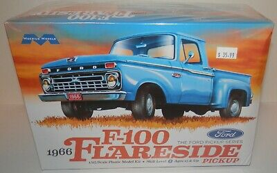 Moebius Models 1:25 1966 Ford F-100 Flareside Pickup #1232 NIB