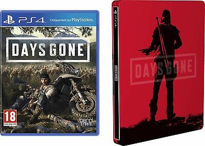Days Gone PS4 PlayStation 4 BRAND NEW & SEALED STEELBOOK INCLUDED