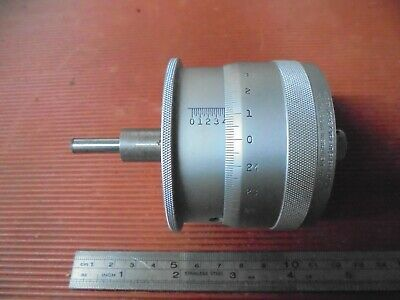Moore & Wright Bench Micrometer Head