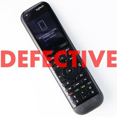 DEFECTIVE Logitech Harmony Elite Remote Control, Hub and App, works with Alexa