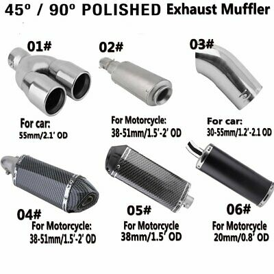 45 90 Degre Polished 304 Stainless Steel Mandrel Exhaust Pipe Bend Elbow Carbon