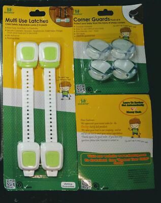 Deestep Child Safety Multi Use Latches & Corner Guards