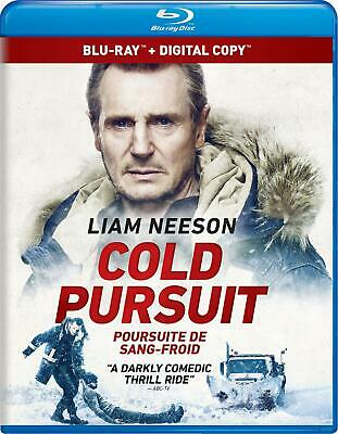 Cold Pursuit - Blu-ray + Digital HD + Slipcover- Brand New - Fast Ship! STEF-445