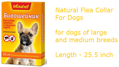 Natural Flea Collar For Dogs - Flea and Tick Protection For Up to 4 Months