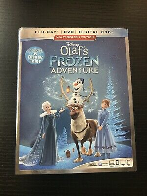 Olaf's Frozen Adventure Disney Multi-screen Edition DVD Exclusive