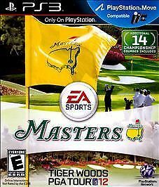 Tiger Woods PGA Tour 12: The Masters (Sony PlayStation 3, 2011) B2