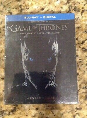 Game Of Thrones Complete Seventh 7th Season 7(Blu-Ray+Digital)NEW Authentic US