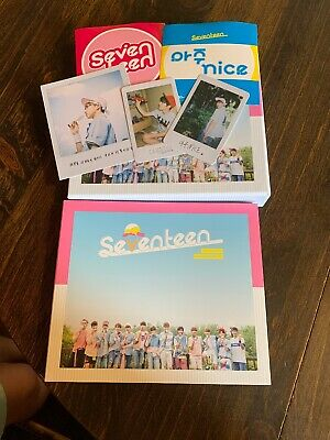 K-pop SEVENTEEN - Vol. 1 [LOVE&LETTER] Repackage Album WITH PICTURES