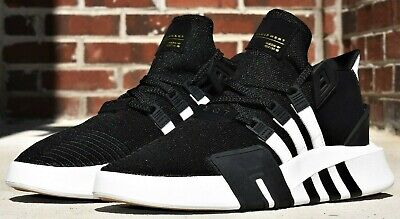 low cost e325c 7a6fe ADIDAS ORIGINALS EQT BASK ADV - New Men's Shoes Basketball D96766 Black Gum