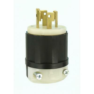 Leviton 30A 120/208V Industrial Grade 3-Phase Locking Grounding Plug
