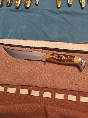 CASE XX USA 523-5  STAG FIXED BLADE- mint condition