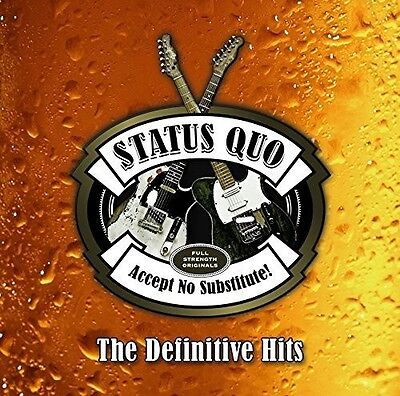 Accept No Substitute: Definitive Hits - Status Quo (2015, CD NUEVO)3 DISC SET