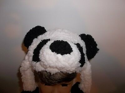 """Panda Bear Hat Accessory  made for 15"""" and 18"""" American Girl Doll Clothes New"""