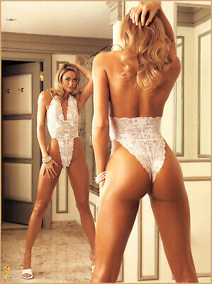 A Tina Louise Backwards White Lingerie 8x10 Picture Celebrity Print