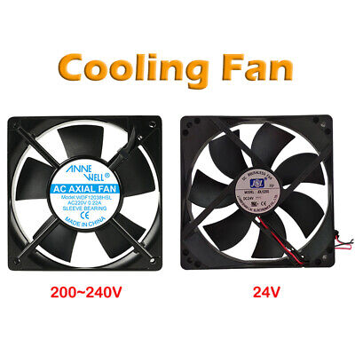 120x120x25mm Heat Sink Cooling Fan Axial PC Extractor Fan 200V-240V