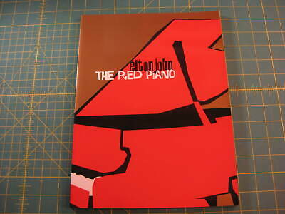 Elton John The Red Piano concert book Las Vegas out of print