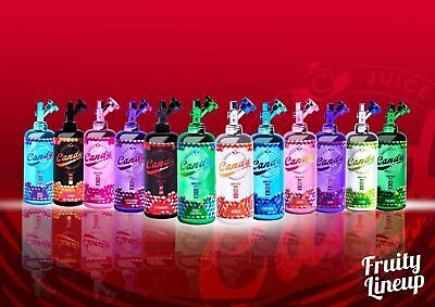 Candy Juice premium E Liquid 50ml 0mg Malaysian Premium  Fruity Flavours!