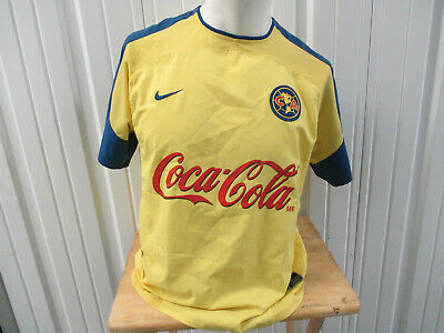 6e5c2c2bc VINTAGE NIKE CLUB AMERICA Las Águilas LARGE SEWN JERSEY 2004 KIT MEXICO  LEAGUE