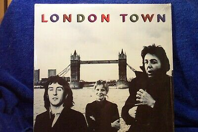 "WINGS (Paul McCartney) LP ""London Town"" ORIGINAL 1978 CAPITOL RECORDS  SEALED"