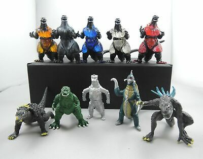 10PC/Set Godzilla Mechagodzilla Gigan Anguirus Mini Figure King of Monster Toys