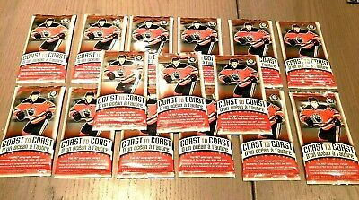 2018-19 OPC COAST TO COAST CANADIAN TIRE UD 15 SEALED HOCKEY CARD PACKS LOT Mint