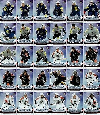 2018-19 OPC COAST TO COAST CANADIAN TIRE TRANSPARENT ALL STARS Complete Set Rare