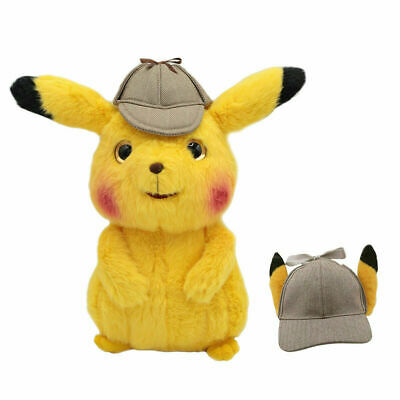 Pokemon Character #025 Plush Doll Detective Cosplay Hat Collection Christmas