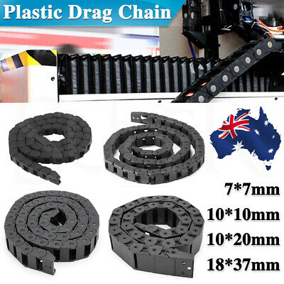 Nylon Towline Cable Drag Chain Wire Protect Carrier CNC R18/R28/R48 1M