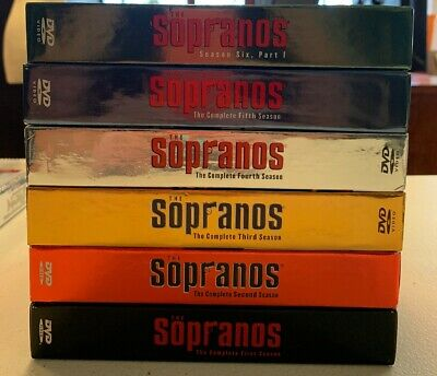 The Sopranos Complete Series Season 1-6 Part 1 (missing 1)  6 Box Set Pre Owned