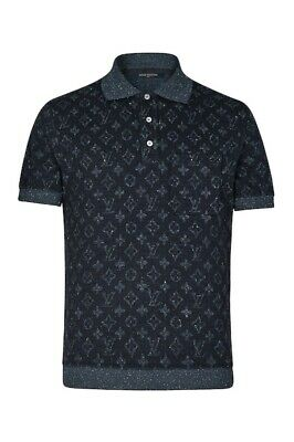 515d325f 100% AUTHENTIC NEW Mens Louis Vuitton All Over Tweed Monogram Polo ...