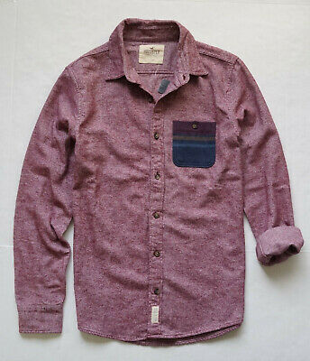 0259d86ea7f COLUMBIA DESCHUTES RIVER Heavyweight Flannel Shirt Men's Size Small ...