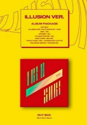 ATEEZ-Treasure Ep. 3: One To All-Album-Illusion/Wave Ver.-PC/Folded Poster+track