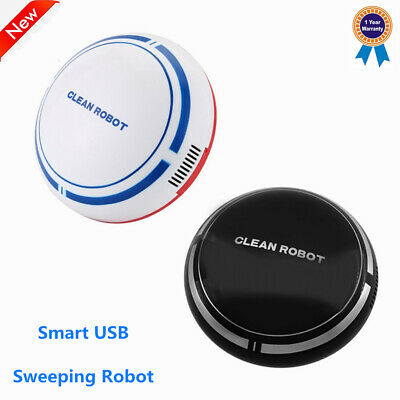 Smart Sweeping Robot USB Charging Automatic Floor Suction Vacuum Cleaner 1800mAh